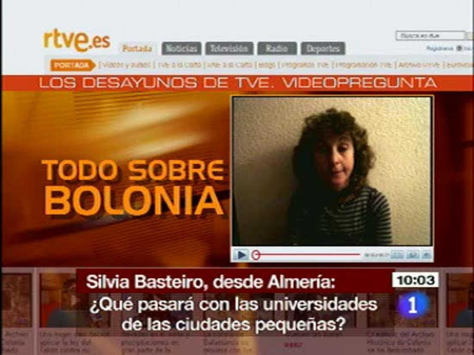 Cristina Garmendia habla sobre la financiación de la reforma de Bolonia