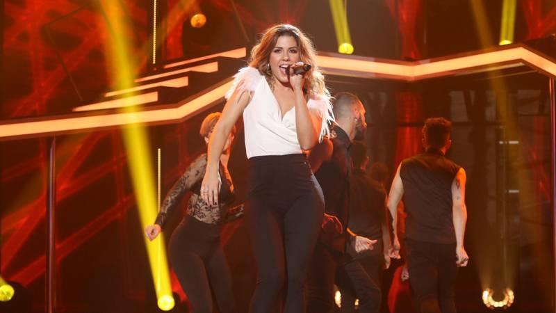 Operación Triunfo - Miriam canta 'I wanna dance with somebody' en la Gala 8 de OT