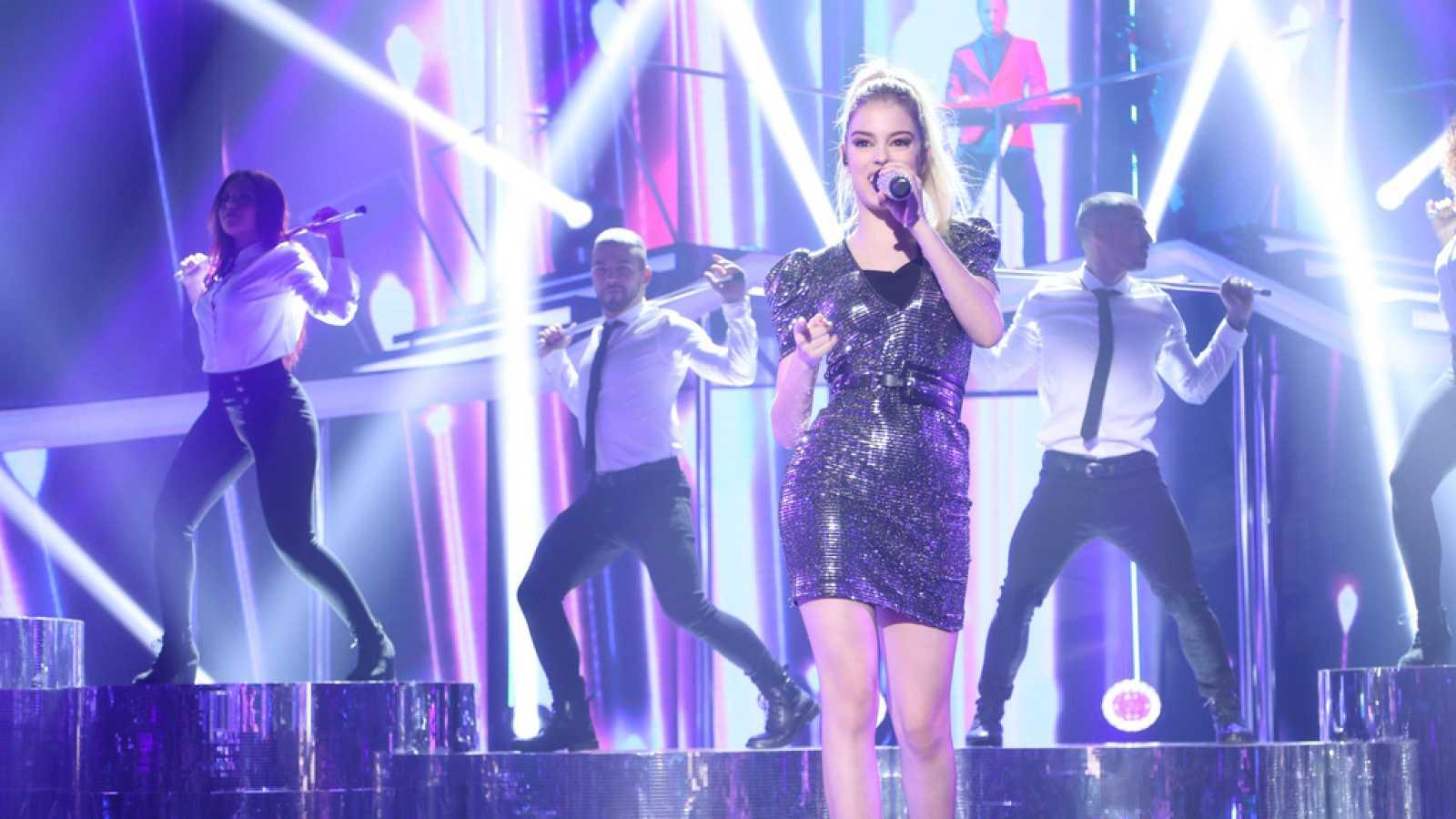 Operación Triunfo - Nerea canta 'Superstar' en la Gala 8 de OT
