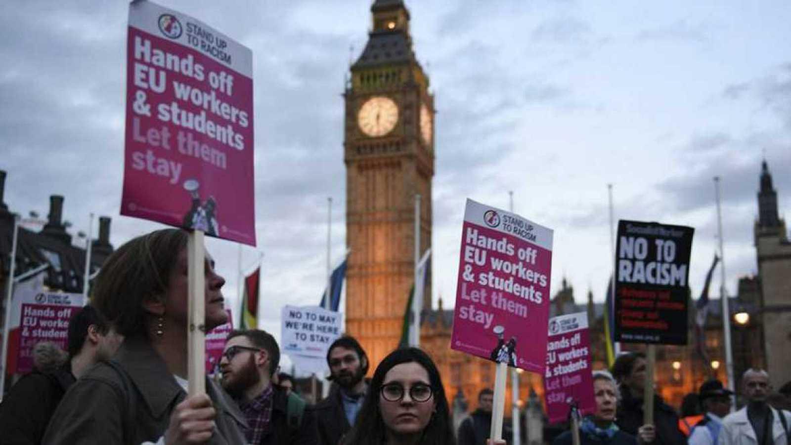 """Reino Unido da """"garantías"""" de residencia a los ciudadanos europeos después del 'Brexit'"""