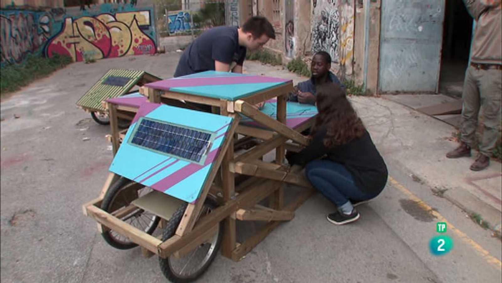 La Aventura del Saber GriGri Pixel BCN comunidad mobiliario urbano Barcelona #AventuraSaberSociedad