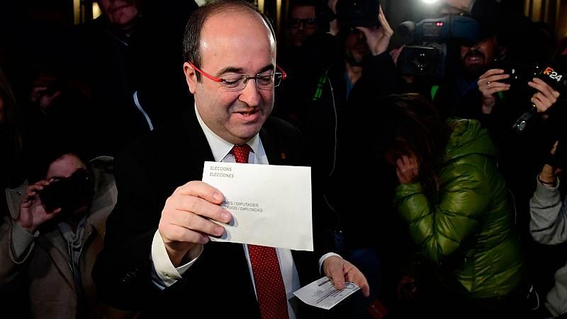 "Iceta vota con ""esperanza"""