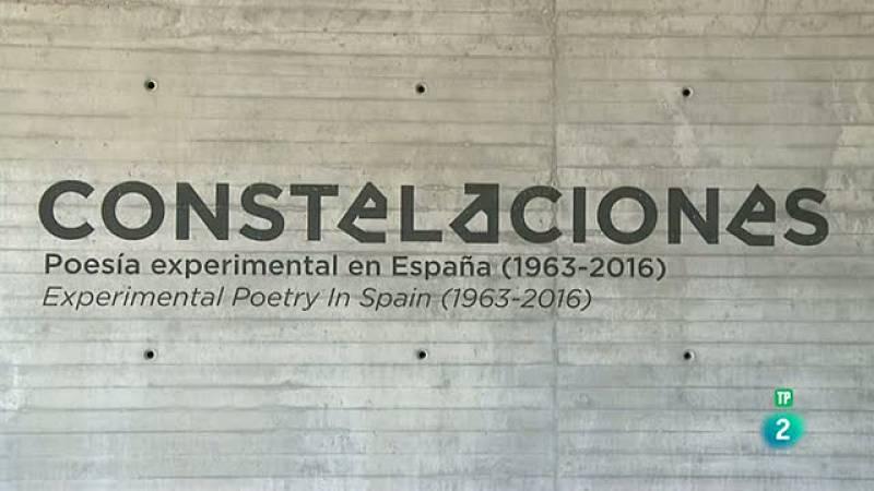 La Aventura del Saber Constelaciones poesia experimental en España 1963-2016 Arte #AventuraSaberLiteratura  Centro de Creación Contemporánea de Córdoba.