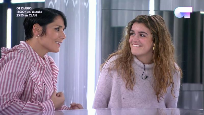 """Operación Triunfo - Rosa y Amaia ensayan """"Gracias por la música"""" en la gala de Navidad"""