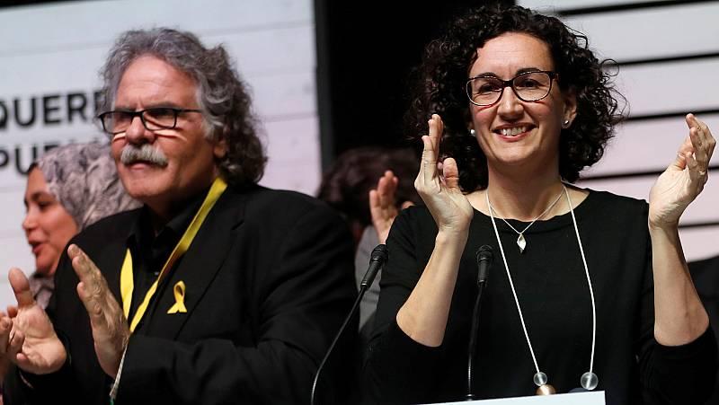 """Marta Rovira: """"Las fuerzas republicanas hemos vuelto a ganar las elecciones, a pesar de la ofensiva del Estado"""""""