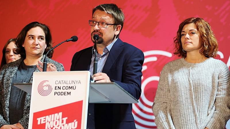 """Domènech reconoce que los resultados del 21D """"no son los querían y esperaban"""""""
