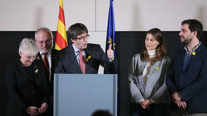 Tres de los candidatos que han sacado escaño en las elecciones catalanas están en prisión provisional