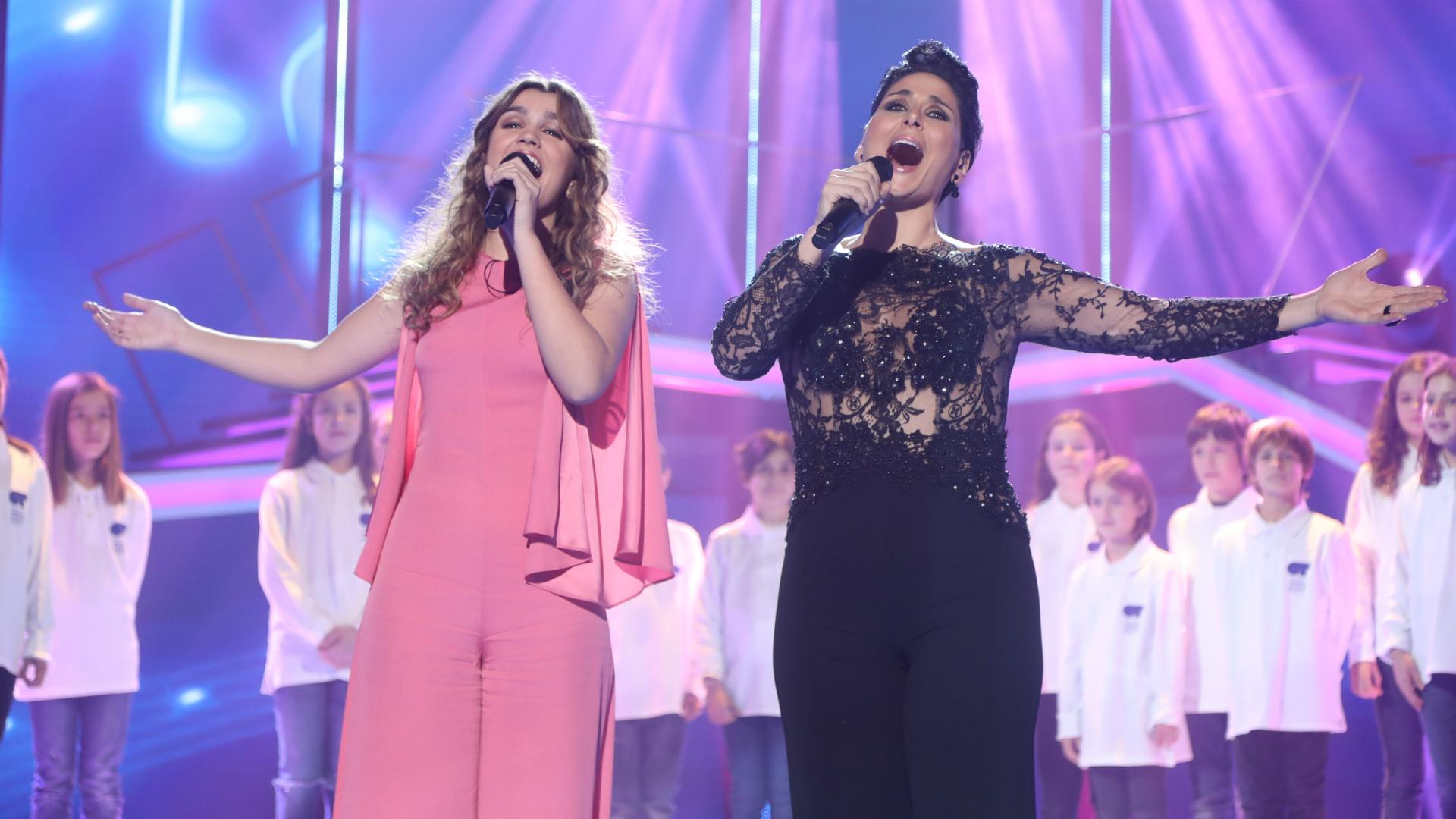 0fa46c7ac6 Operación Triunfo - Amaia canta con Rosa