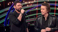 """Miguel Poveda y Raphael cantan """"Gracias a la vida"""""""