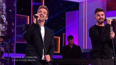 """Juanes y Pablo Alborán cantan """"Cuerda al corazón"""""""