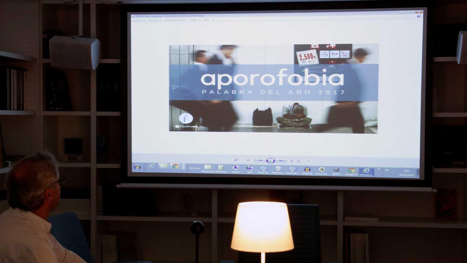 """Aporofobia"", la palabra de 2017 para la Fundéu BBVA"