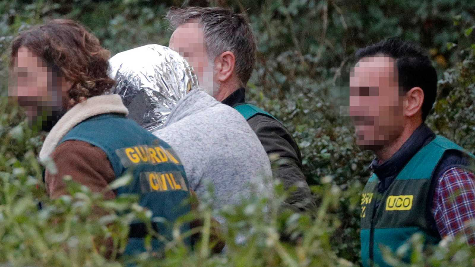 """El asesino confeso, a la Guardia Civil tras derrumbarse: """"Vamos a por el cadáver de Diana"""""""
