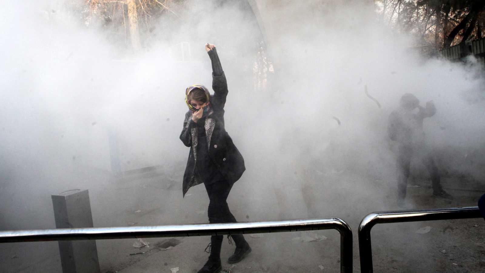 Las protestas en Irán dejan al menos una decena de muertos y un cruce de acusaciones con EE.UU. e Israel