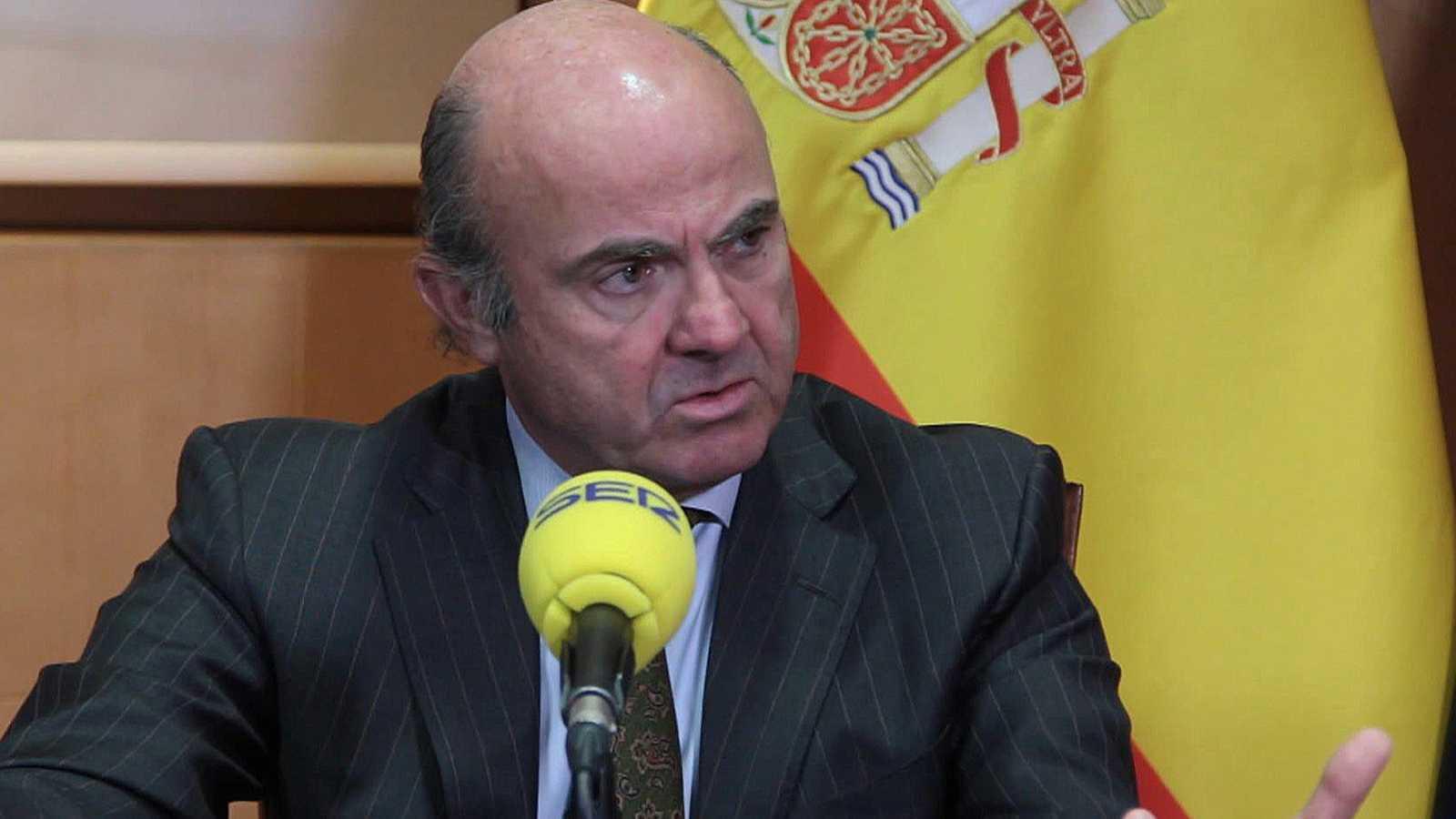 Luis De Guindos cifra en mil millones de euros las pérdidas por la crisis en Cataluña