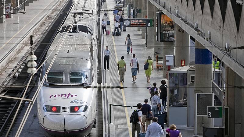 El AVE estrenará en 2018 500 kilómetros de vías en Granada, Burgos, Murcia y Lubián