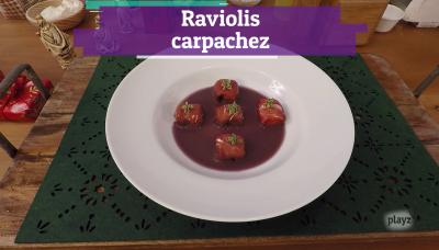 Receta: raviolis carpachez