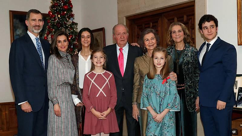 El rey Juan Carlos cumple 80 años y lo celebra con una comida familiar