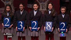 El 23.282, tercer premio del Sorteo Extraordinario del Niño de 2018