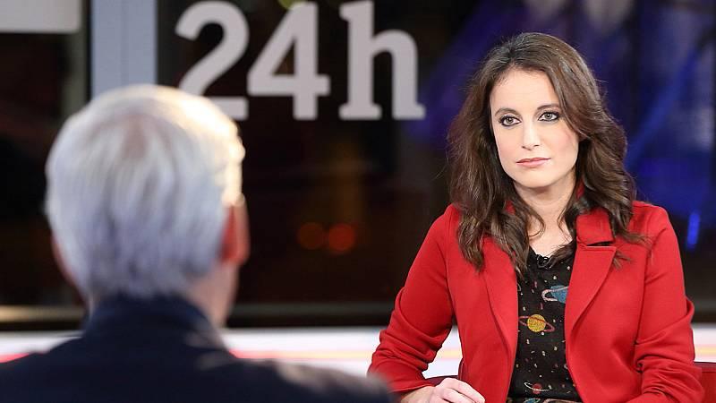 """Andrea Levy asegura que el PP apoyará """"cualquier alternativa constitucionalista"""" en Cataluña"""