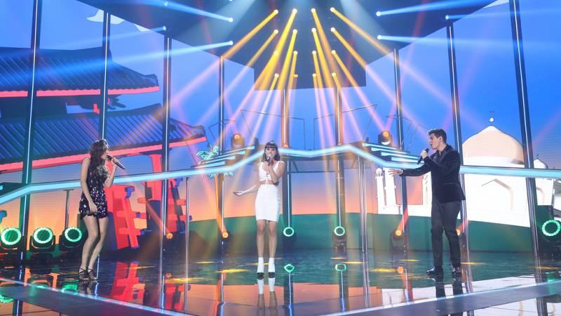 Operación Triunfo - Alfred, Aitana y Ana Guerra cantan 'Solo si es contigo'