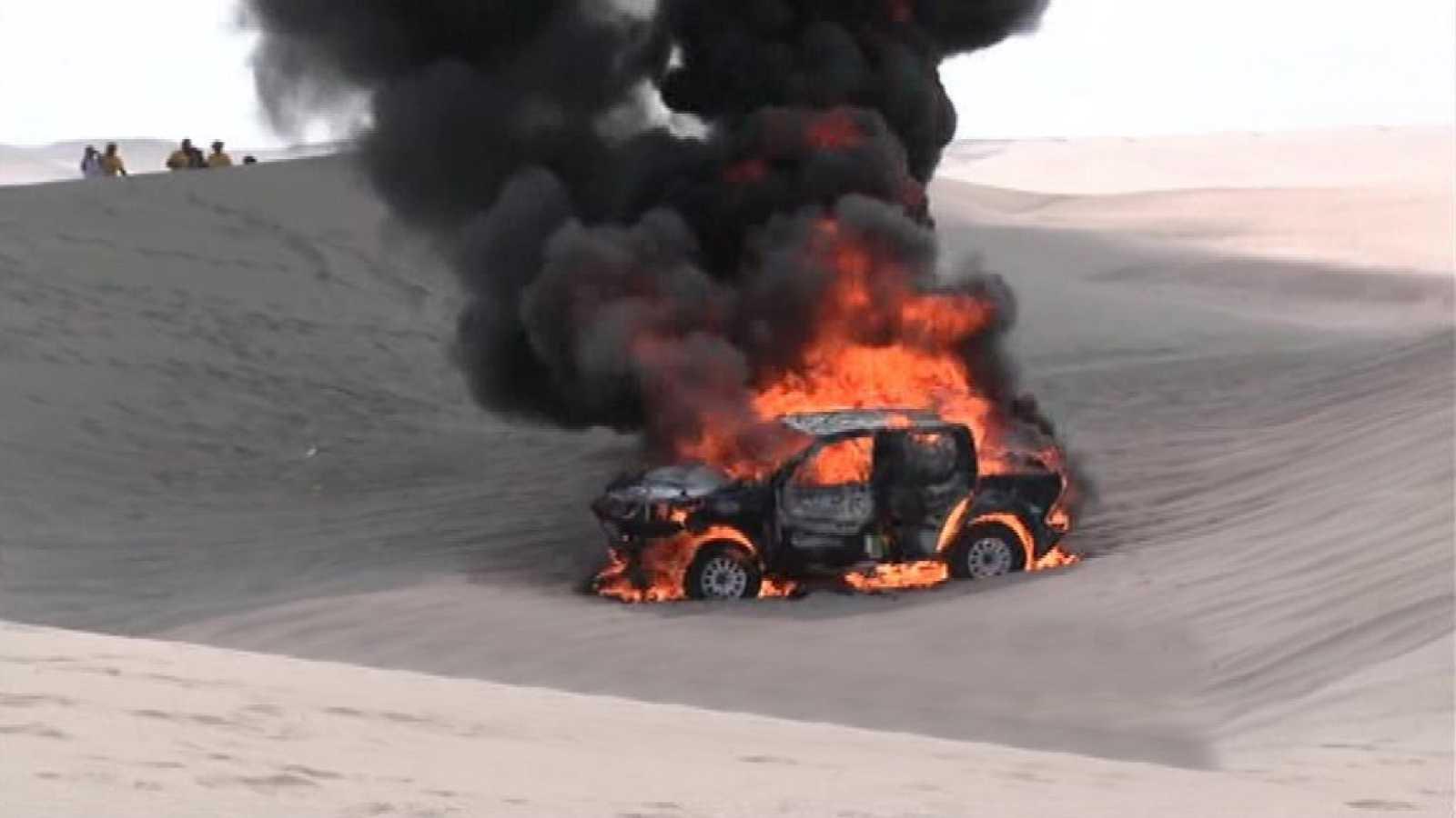 Rally Dakar 2018 - 3ª Etapa: Pisco - San Juan de Marcona - ver ahora