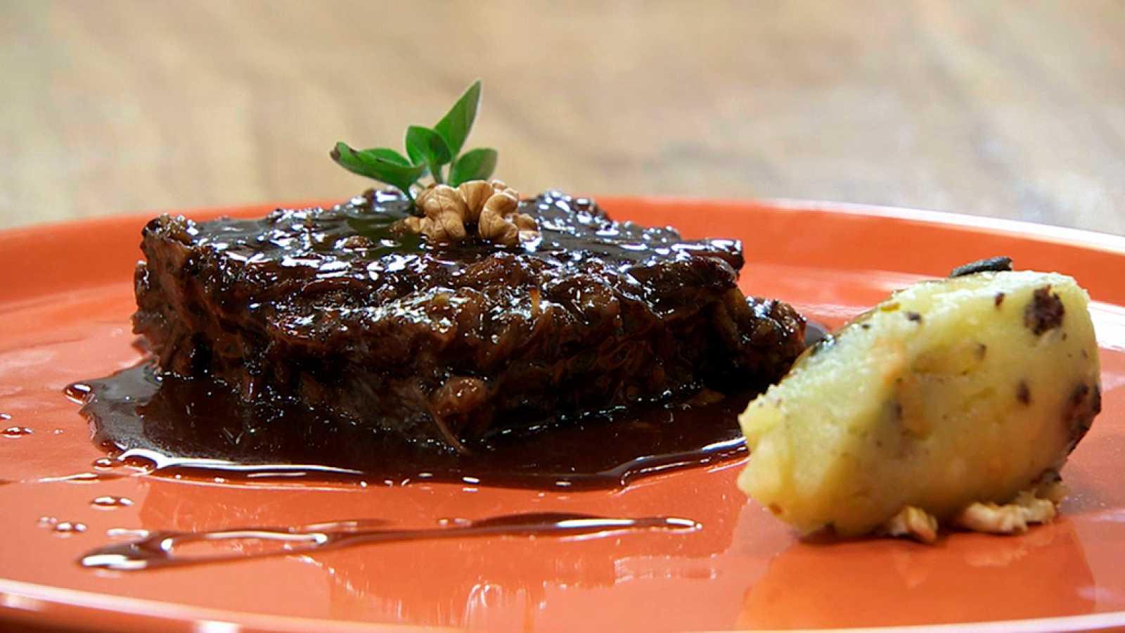 Torres en la cocina - Falso brownie de rabo de ternera