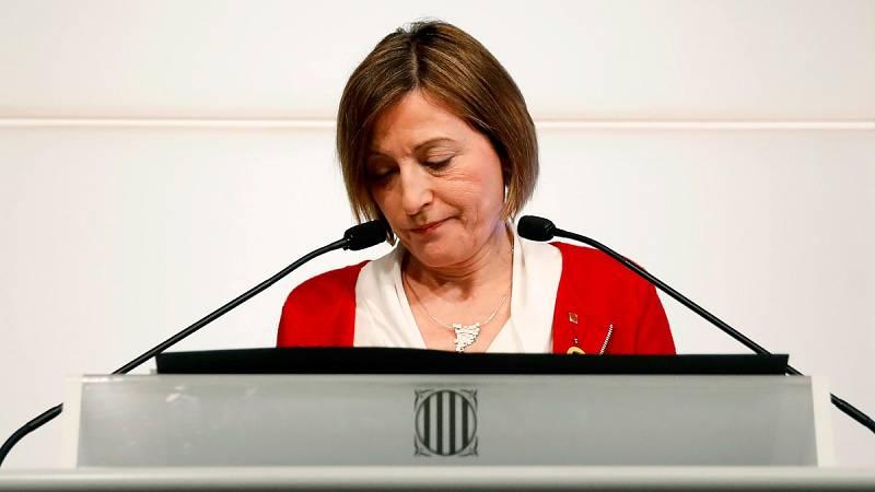 """ERC afirma que """"agudizará todo su ingenio"""" para que haya investidura tras el rechazo de Forcadell a presidir el Parlament"""