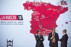 La Vuelta 2018 dará espectáculo con montaña, crono larga y final explosivo