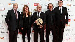 'La librería' y 'El autor' triunfan ex aequo en los Premios Forqué