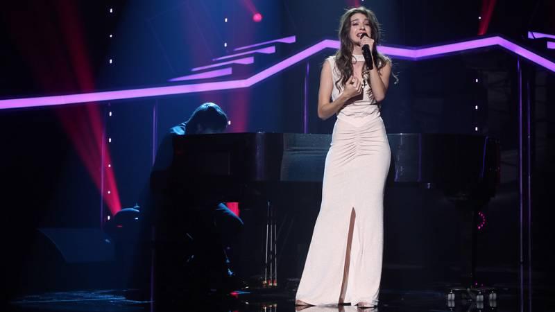 Operación Triunfo - Ana Guerra canta 'Por debajo de la mesa' para no ser expulsada de la Gala 11 de OT