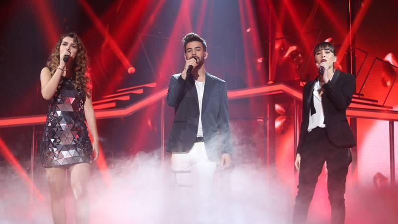 Operación Triunfo - Agoney, Aitana y Amaia cantan 'Lucha de gigantes'