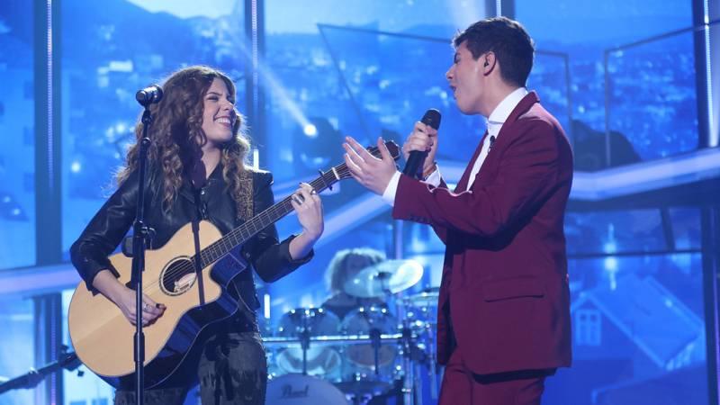 Operación Triunfo - Alfred y Miriam cantan 'Cuando duermes' en la Gala 11 de OT