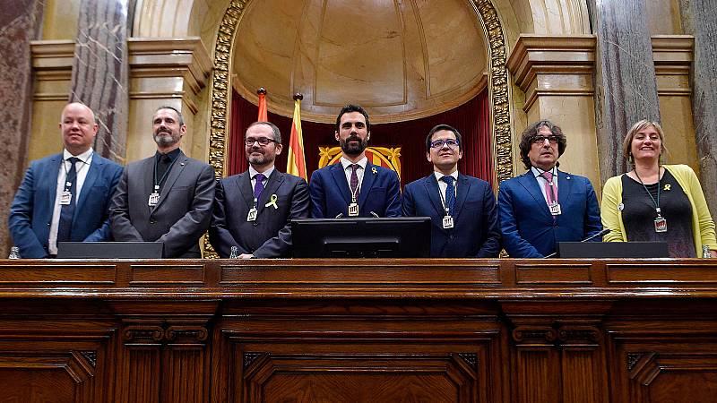 Roger Torrent elegido nuevo presidente del Parlament con el voto de los independentistas