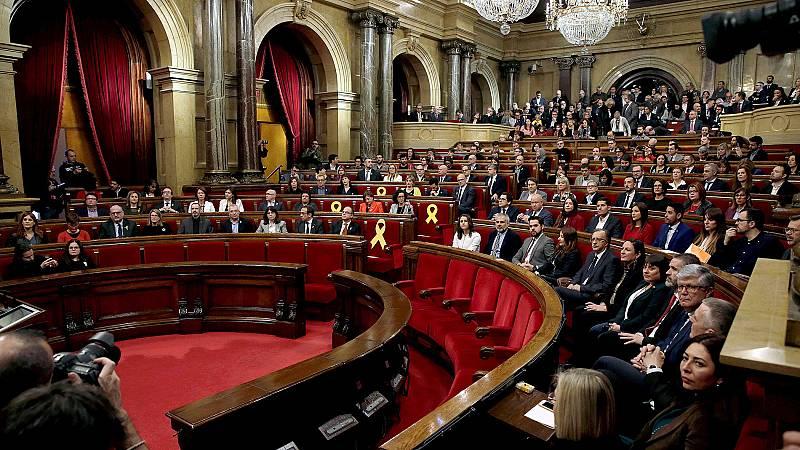 La constitución del Parlament inicia la cuenta atrás