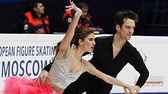 Patinaje Artístico - Campeonato de Europa: Programa Corto Danza. Parte 1