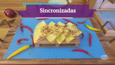 Receta: sincronizadas de jamón y queso