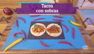 Receta: tacos mexicanos con sobras