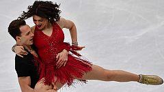 Patinaje Artístico - Campeonato de Europa: Programa Corto Danza. Parte 2