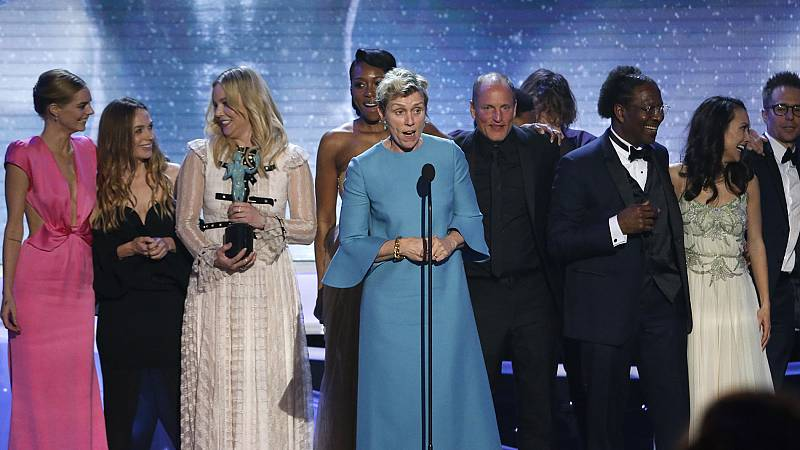 Frances McDormand y Gary Oldman, triunfadores en los premios del Sindicato de Actores