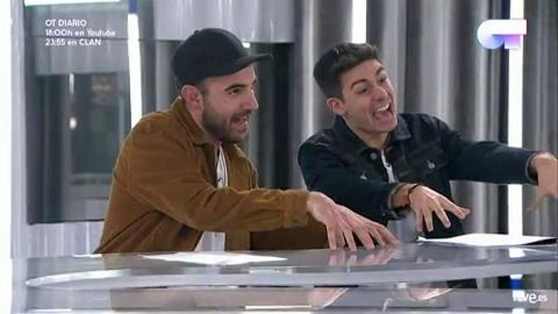 Eurovisión - Alfred, muy contento con su tema para Eurovisión