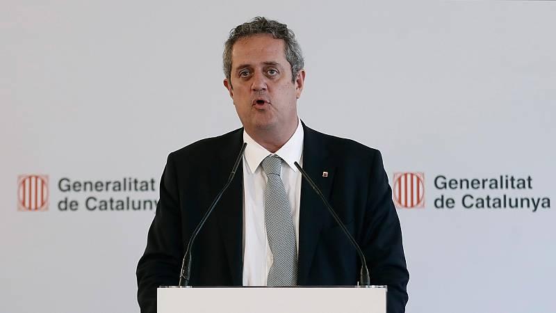 El exconsejero catalán Joaquim Forn renuncia a ser diputado