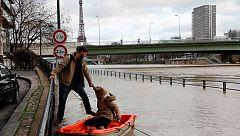 Alerta en Francia ante la crecida del río Sena