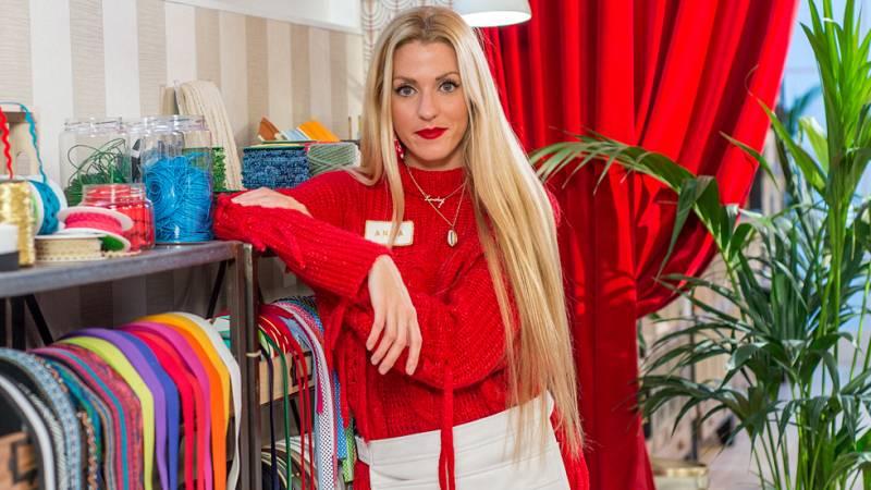 Maestros de los costura - Anna, segura y llena de energía