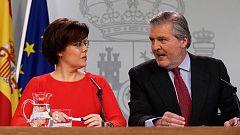 """El Gobierno recurre la candidatura de Puigdemont """"con todo el respeto"""" al informe desfavorable del Consejo de Estado"""