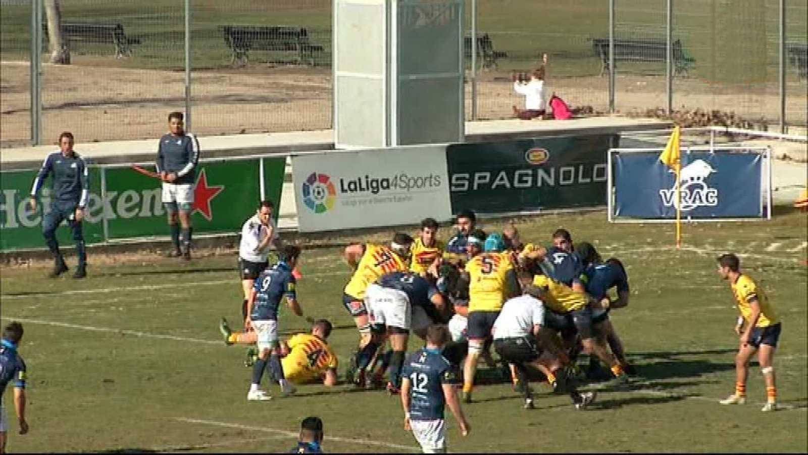 Rugby - Copa del Rey. Final: VRAC Quesos Entrepinares - UE Sabtboiana - ver ahora
