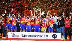 Europeo de balonmano 2018. Los 'Hispanos' se coronan reyes de Europa