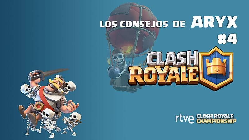 Clash Royale. Los consejos de Aryx 4 - Cómo hacer un mazo equilibrado