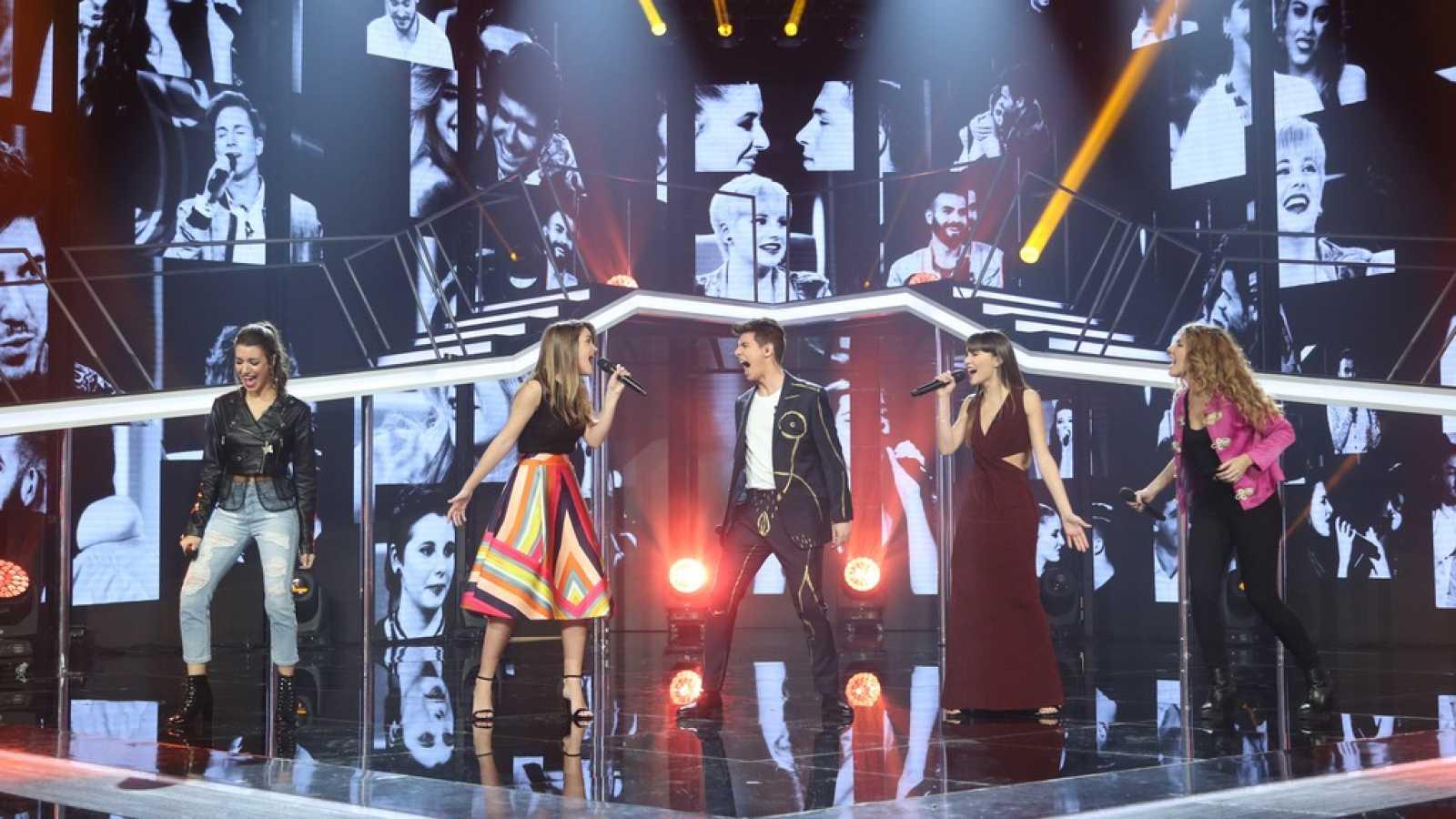 Operación Triunfo - Canción grupal de la Gala Eurovisión de OT: 'Camina'