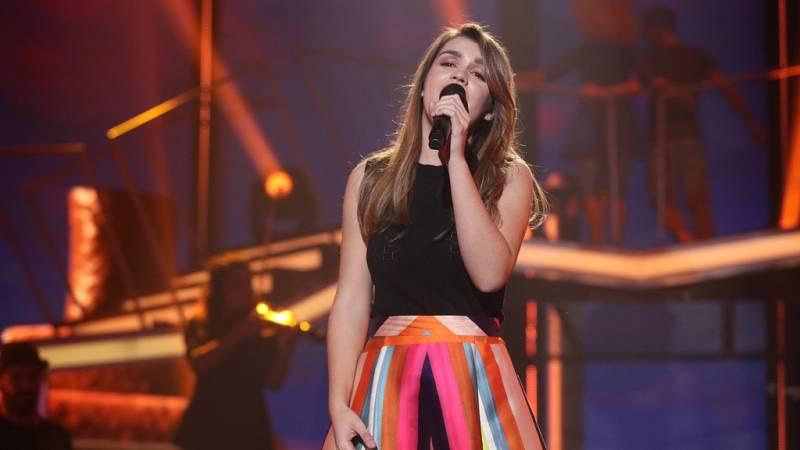 Operación Triunfo - Amaia canta 'Al cantar' en la Gala Eurovisión de OT