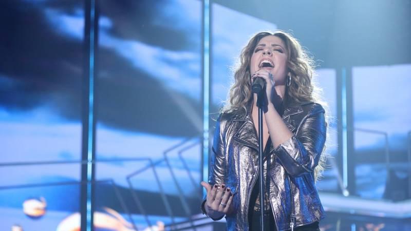 Operación Triunfo - Miriam canta 'Lejos de tu piel' en la Gala Eurovisión de OT
